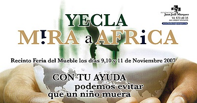 Yecla Mira a África
